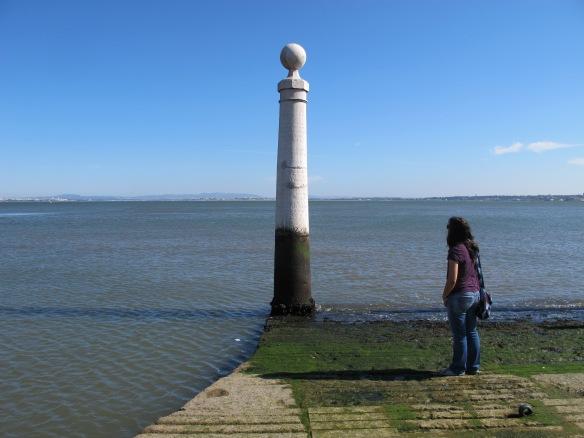 Column at Parca do Comercio (Canon G12)