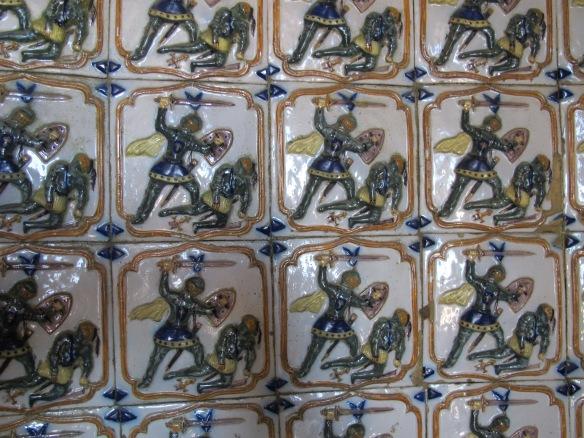 Azulejos at Palacio da Pena (Canon G12)