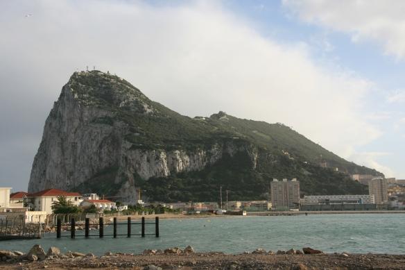 Gibraltar - La Rocca (Colonna d'Ercole)