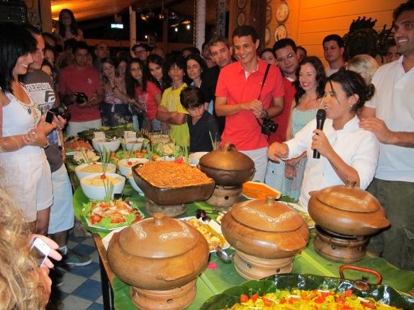 Festival Gastronomico at Zé Maria
