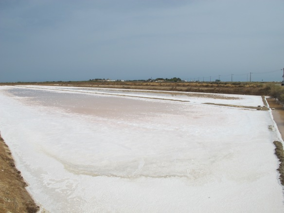 Salt pan at Tavira (Canon G12)