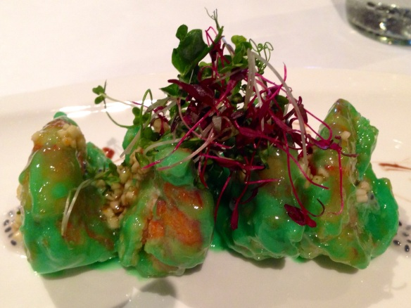 The superlative Wasabi Prawns