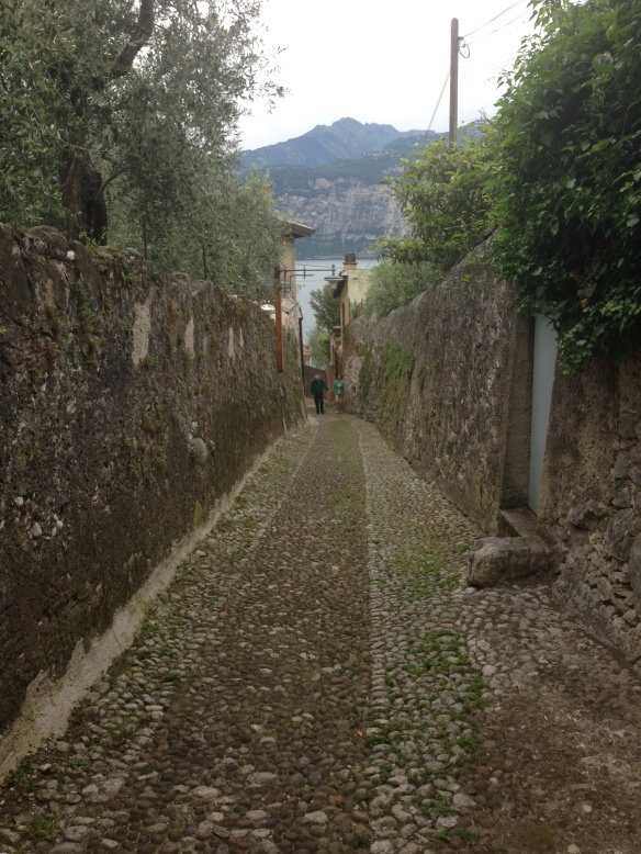 Road to Vecchia Malcesine...