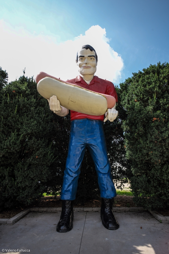 Giant #2: Bunyan Giant or Tall Paul (Atlanta)