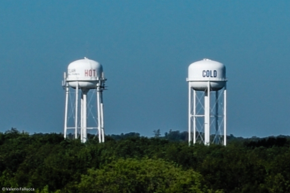 Hot and Cold Water Towers (St.Clair)