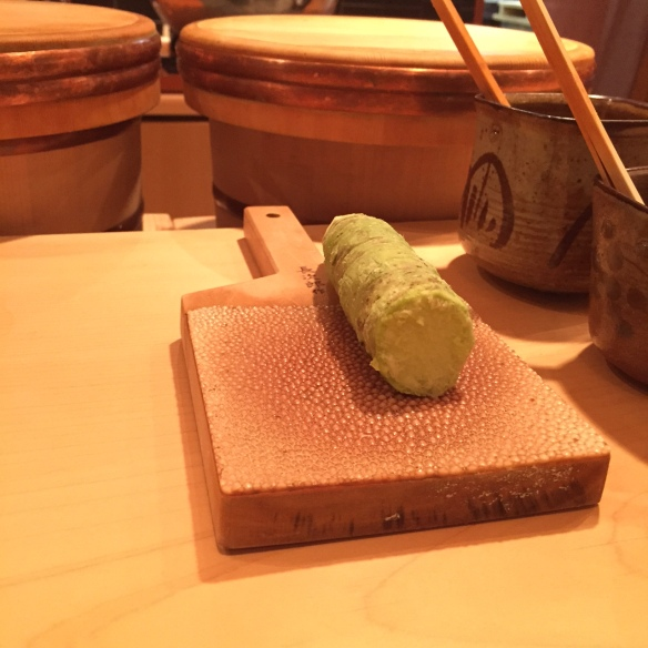 Wasabi on the spot