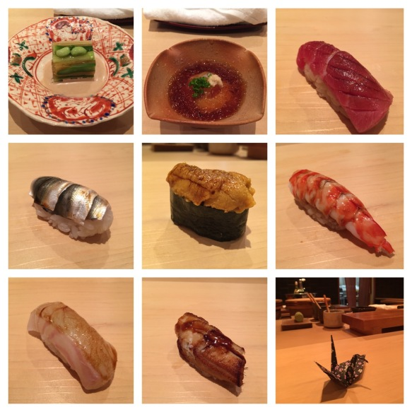 Our incredible sushi journey
