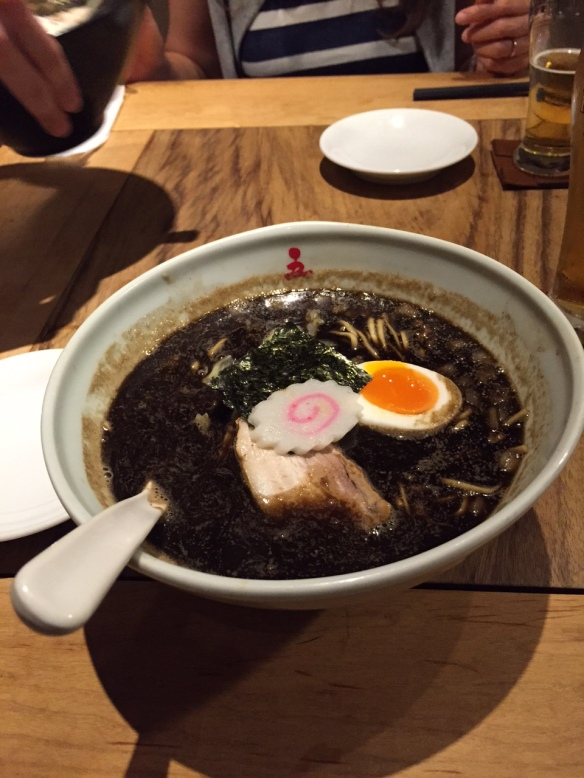 The superb Burned Ramen at Gogyo