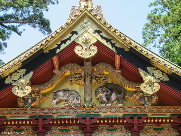 Nikko Tōshō-gū: the elephants