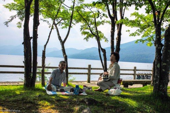 Lake Chūzenji: pic-nic