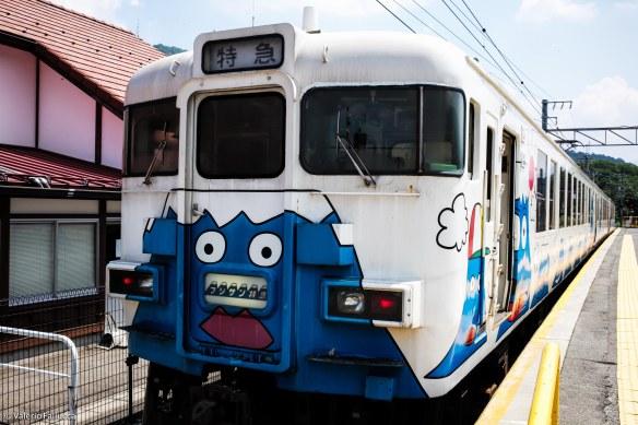 Train to Kawaguciko: Fuji express